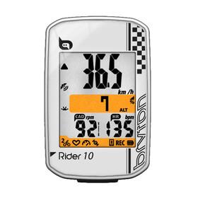 Bryton Rider 10 C Fahrradcomputer + Trittfrequenz weiß